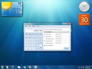 Windows 7 Calculator On Desktop