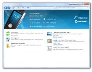Windows 7 Device Stage
