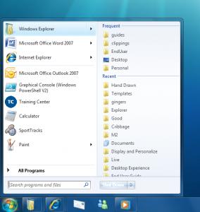 Windows 7 Jump Lists