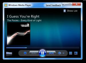 Windows 7 Lightweight Windows Media Player