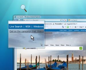 Windows 7 Magnifier