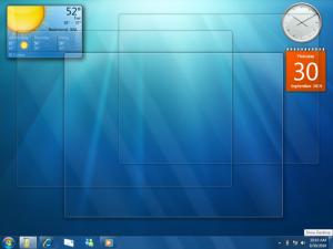 Windows 7 Peek After