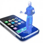 Apple iPhone Holographic SMS Text Messaging