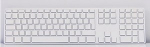 Apple White Keyboard-2