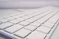 Apple White Keyboard