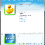 Windows Live Messenger 2009 Chat