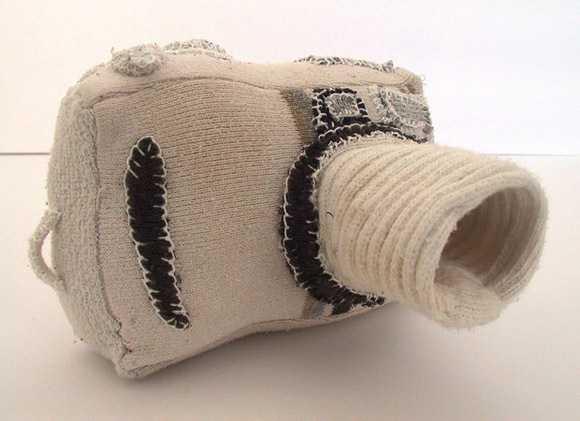 Sock Art Camera-1