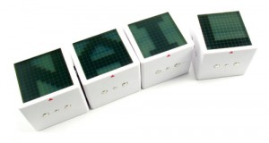 Electronic Cube Puzzle Game