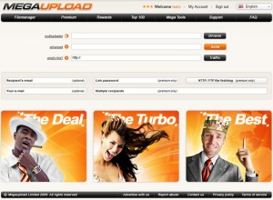 Megaupload.com New Design
