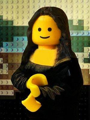 Monalisa by Lego