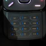Nokia N86 keypad