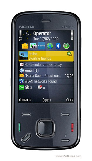 The expected Nokia N86 price will be $475 (€375 / £330)