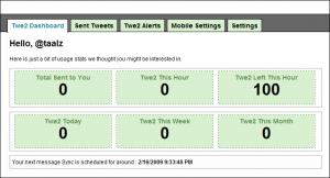 Twe2 Main Screen