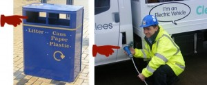 Garbage Van in UK that runs on Garbage-2