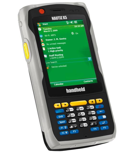 Handheld New Nautiz X5 Windows Mobile