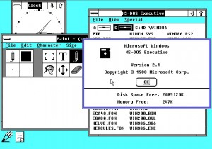 Microsoft Windows 2.1 was released in 1988 with a little changes and patches to the operating system