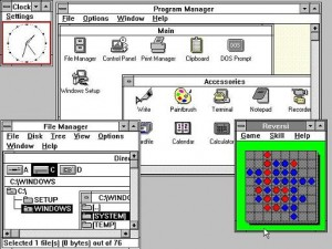 With the release of Microsoft Windows 3.0, Microsoft got the break-through and this was when Windows started becoming the giant in operating systems.