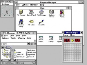 Microsoft Windows 3.1 was another big success by Microsoft Corporation and Windows operating system broke all the records in the industry and set up a new path to lead.