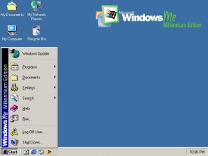 Windows Millennium also known as Windows ME was released in year 2000 by Microsoft and this version of Windows was the biggest flop version ever in the past 15 years of company's history.