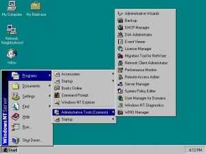 Beside the release of Windows 98, Microsoft also released the newer and improved version of their networked computer operating system known as Windows NT Server.