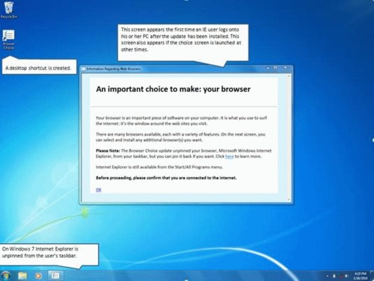 Microsoft Update: Install Other Browsers