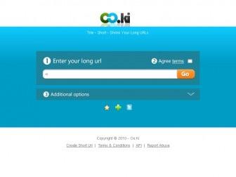Oo.ki - URL Link Shortening Service