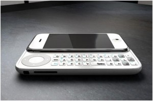 Apple iPhone 4 with QWERTY slide keypad
