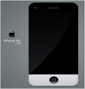 Apple iPhone 4 iMac Concept