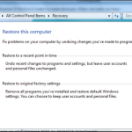 Windows 8 Open System Reset Option Screenshot