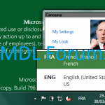 Windows 8 Language Selection in Taskbar