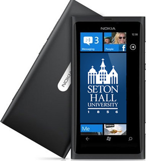 Free Nokia Lumia 900 for Seton Hall University Freshman with SHUMobile App