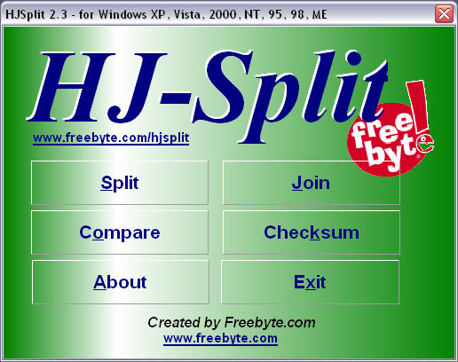 How to Join Files Using HJSplit